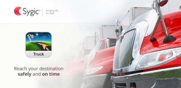 Sygic Truck Navigation: ecco il navigatore per i camionisti