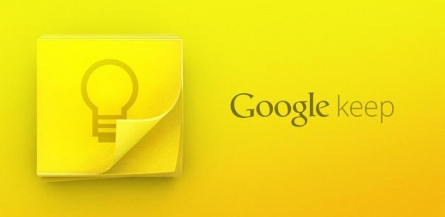 Google Keep disponibile ora nel Play Store