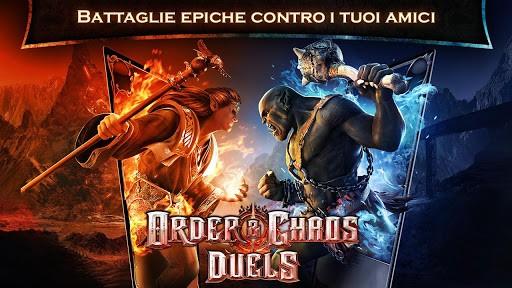 Order & Chaos Duels: arriva su Google Play l'ultimo gioco di casa Gameloft