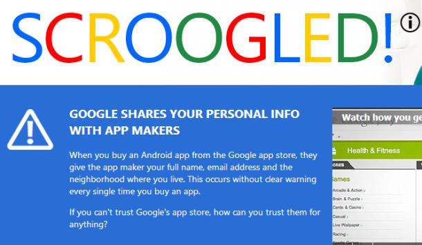 Microsoft attacca Google con nuovi spot sulla privacy degli utenti che acquistano sul Play Store