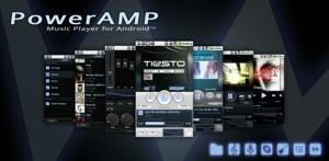 Il riproduttore musicale PowerAMP si aggiorna con diverse novità