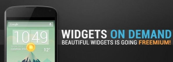 Beatiful Widgets Freemium: disponibile la versione Beta con sconti a vita del 50%