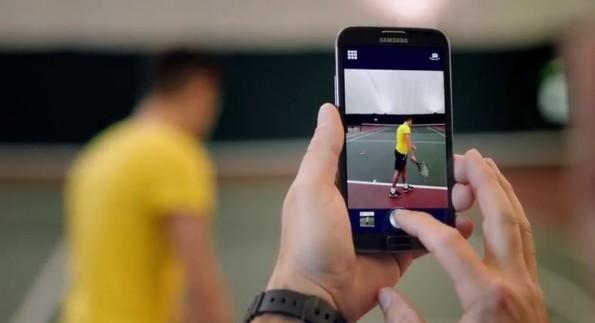 Galaxy Note 2: pubblicato un video promozionale con l'app Coach's Eye