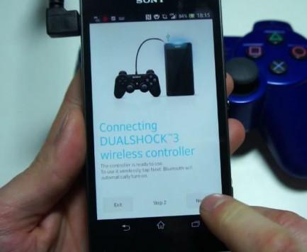 Sony Xperia SP: supporto nativo al controller dualshock 3 della PS3