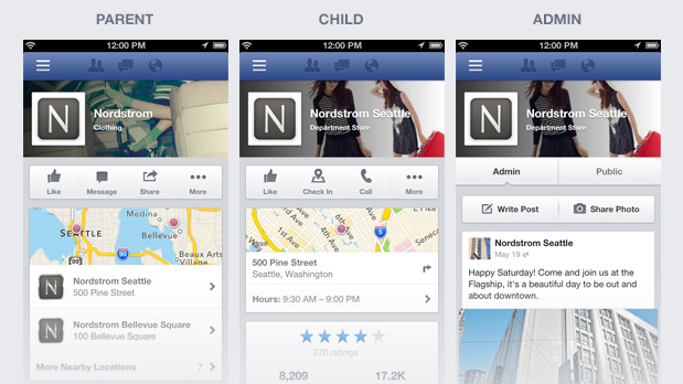 Facebook ridisegna l'interfaccia grafica mobile delle Pagine e dei Gruppi