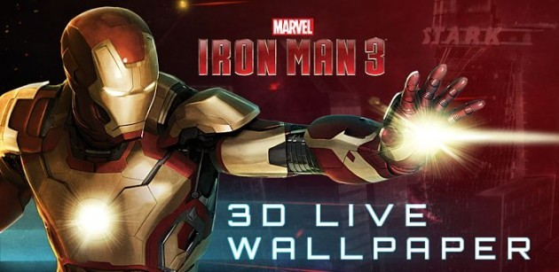 Iron Man 3: disponibile il live wallpaper