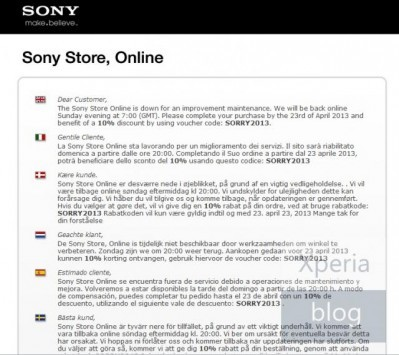Sony Xperia Tablet Z: 10% di sconto per chi prenota il device