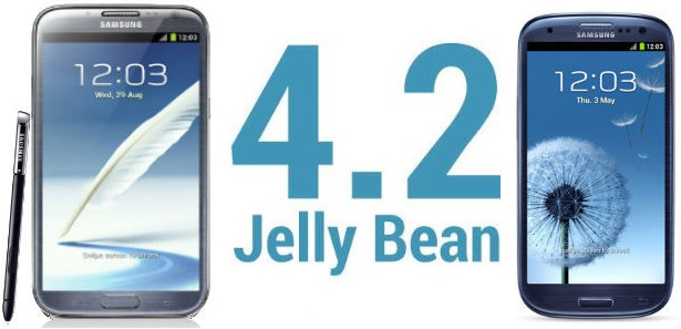 Samsung Galaxy S III e Galaxy Note II: Android 4.2.2 arriverà entro Maggio/Giugno