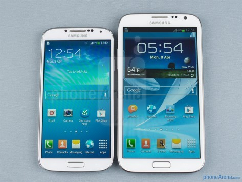Samsung Galaxy S IV vs Samsung Galaxy Note II: ecco un nuovo video confronto