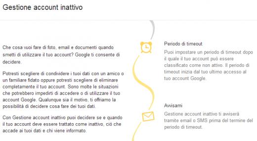 Google introduce una testamento digitale per i nostri account