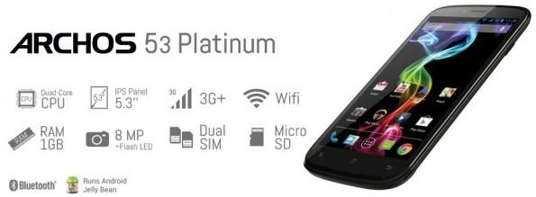Galaxy S4 Active, Nexus 4 Bianco e Archos 53 Platinum: disponibili in Italia con Garanzia Europa