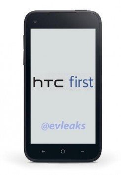 HTC First: disponibile la prima immagine del 'Facebook Phone'