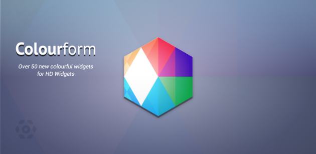 Colourform: un nuovo add-on per HD Widgets