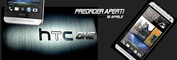 HTC One: al via i preordini su Computermemory a 599€ con consegna dal 19 aprile