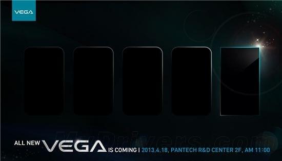 Pantech Vega Iron: prime immagini e presentazione il 18 Aprile