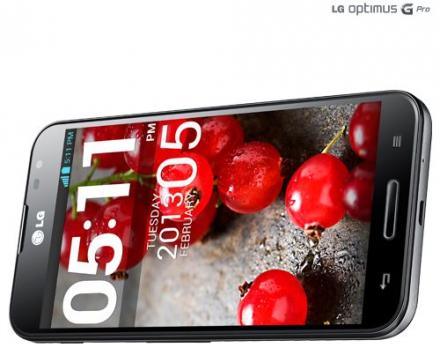 LG Optimus G Pro in arrivo anche in colorazione nera [Immagini]