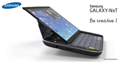Galaxy NxT: il concept di un Samsung Galaxy S IV con tastiera