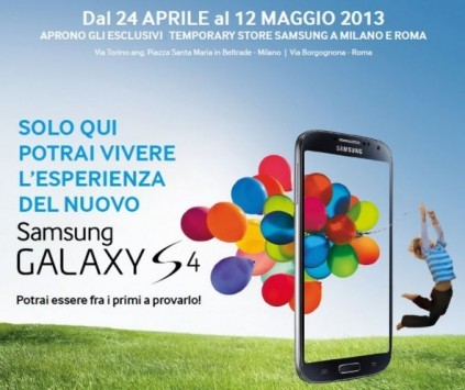 Galaxy S IV: vendita dal 27 Aprile a 699€ con Assistenza con ritiro a domicilio, Kasko e Exclusive