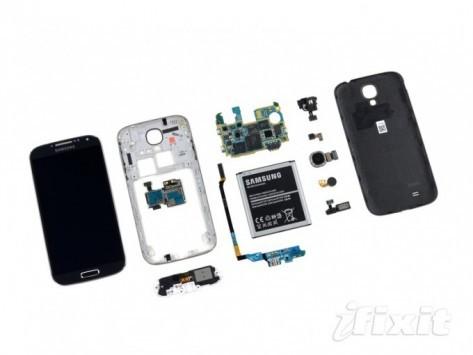 Samsun Galaxy S IV: iFixit esegue il teardown ed assegna un ottimo punteggio in riparabilitá
