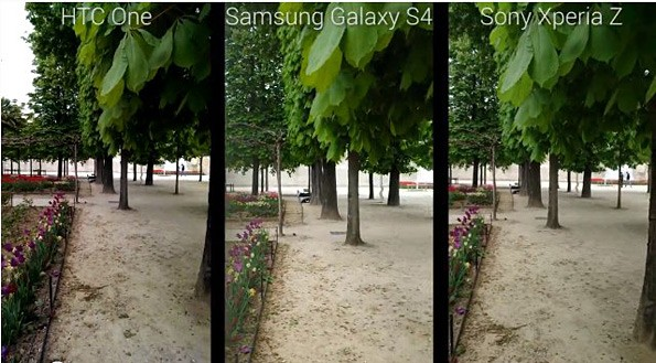 HTC One vs Samsung Galaxy S IV vs Sony Xperia Z: test registrazione video in notturna a 1080p