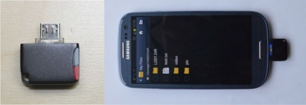 Mini microSD Reader per Nexus 7 ed altri device Android: un nuovo progetto Kickstarter
