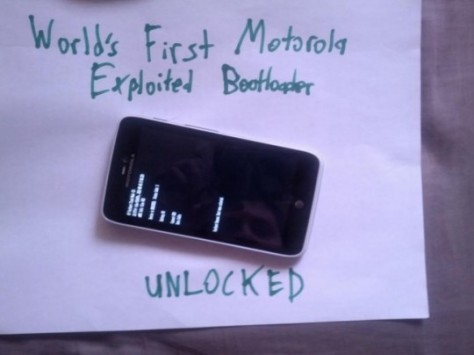 Bootloader unlocked per Motorola RAZR HD e altri