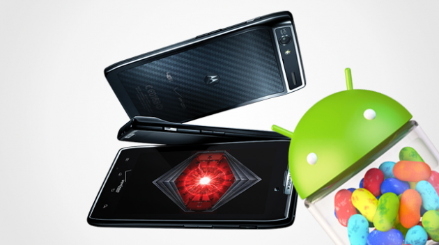 Motorola RAZR: disponibile in Europa (Italia?) l'update ufficiale ad Android 4.1.2