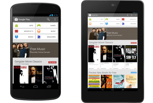 Google Play Store: disponibile al download la versione 4.0.25