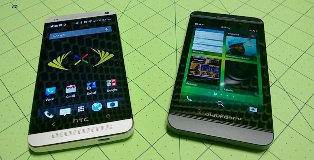 HTC One vs BlackBerry Z10: ecco un nuovo video confronto