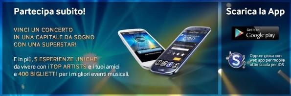 Samsung Social Stage: l'app ufficiale per vincere concerti e molto altro ancora