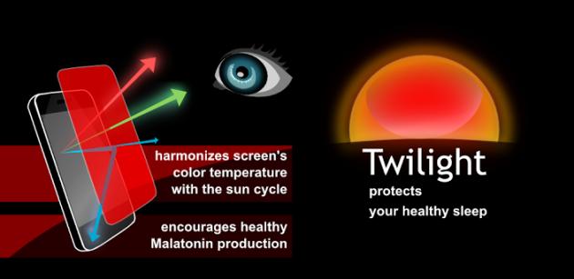Twilight: un app per dormire sonni tranquilli