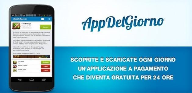 App Del Giorno: scaricate ogni giorno un'app in offerta gratuita sul Play Store