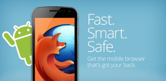 Firefox per Android si aggiorna con la navigazione anonima, il supporto a Google Now e molto altro