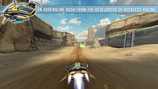Repulze: corse e sparatorie spaziali dai creatori di Reckless Racing