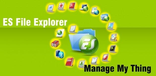 ES File Explorer: tema Holo e molto altro nell'ultima Beta [DOWNLOAD]