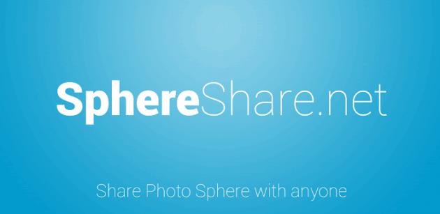SphereShare.net: l'applicazione per visualizzare le immagini Photo Sphere