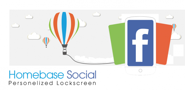 Homebase: lockscreen in stile Facebook Home ma senza cambiare launcher