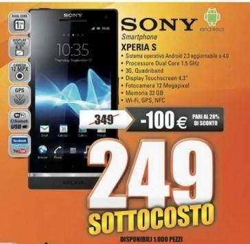 Sony Xperia S a 249€ e Nexus 7 da 32 GB a 199€ da MarcoPolo Expert