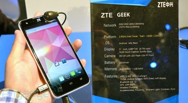 ZTE Geek: in arrivo dal 25 Luglio in Cina a 234€