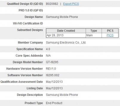 In arrivo il Samsung Galaxy Ace 3: dalla certificazione Bluetooth trapelano nuove specifiche