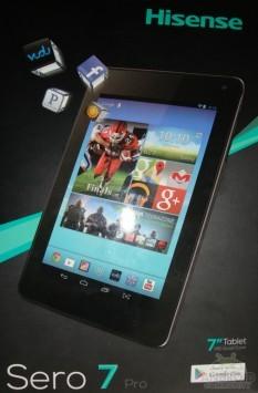Hisense Sero 7 Pro: 7 pollici, CPU Tegra 3 e Android 4.2 a 99 dollari
