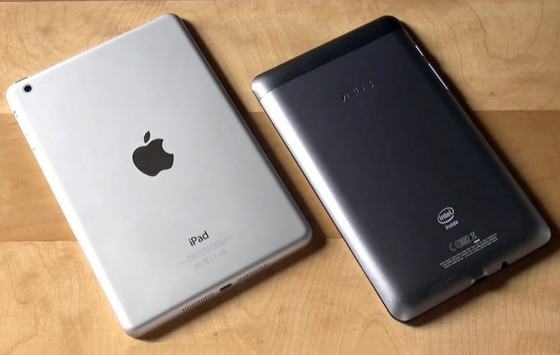 ASUS Fonepad vs Apple iPad Mini: ecco un nuovo video confronto