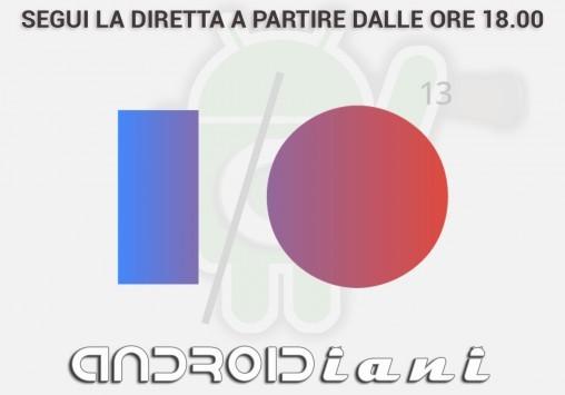 Google I/O 2013 - Segui la diretta su Androidiani.com