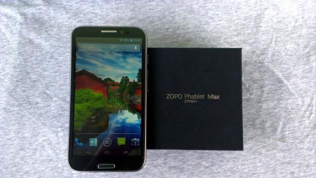 Zopo ZP950+ Phablet Max: La recensione di Androidiani.com