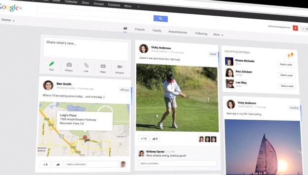 Google+: nuovi Stream, Hangouts e Foto [Google I/O 2013]