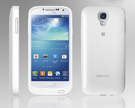 Samsung Galaxy S IV: la cover posteriore ExoGear Exolife raddoppia la batteria del device
