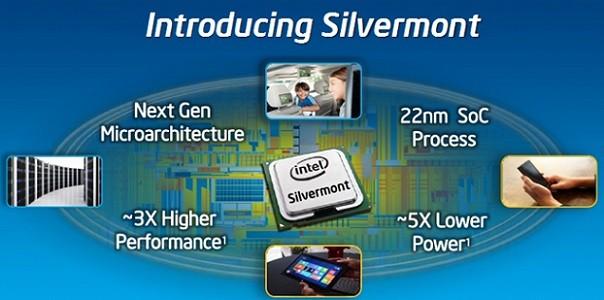 Intel presenta Silvermont: la nuova architettura per i prossimi smartphone e tablet