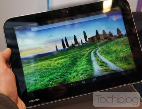 Toshiba AT10LE: prime immagini del tablet con chip Nvidia Tegra 4