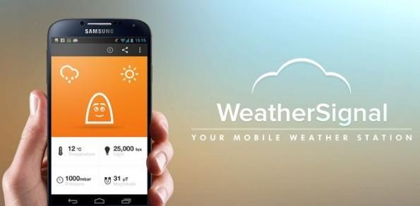 WeatherSignal: l'app meteo che sfrutta il barometro dei device Android