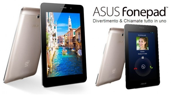 ASUS FonePad: disponibile l'update firmware 3.2.2 con il supporto allo USB OTG
